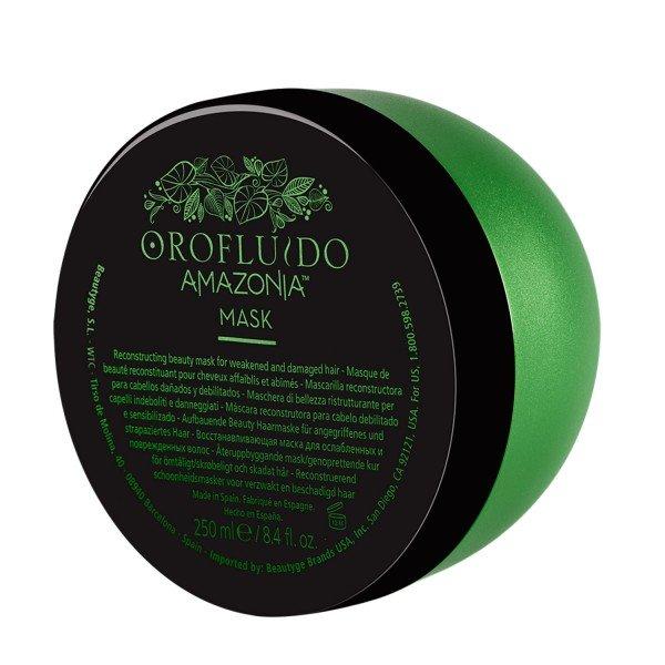 OROFLUIDO Маска восстанавливающая для ослабленных и поврежденных волос / OROFLUIDO AMAZONIA, 250 мл -  Маски