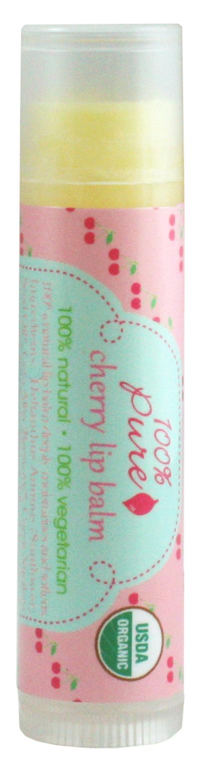 100% PURE Бальзам для губ, вишня (USDA Organic) 4,25 г