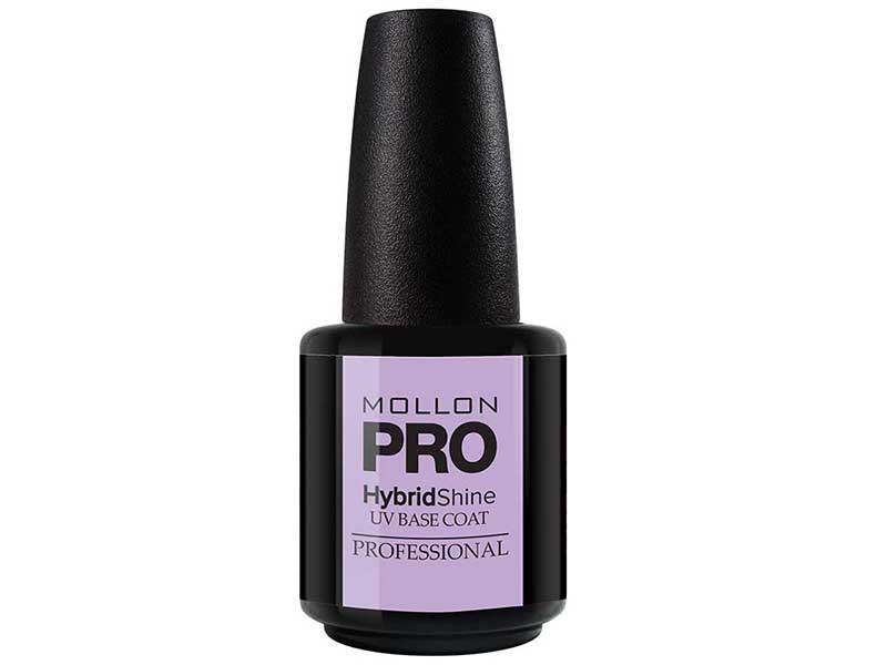 MOLLON PRO Покрытие для ногтей базовое УФ / HybrydShine UV Base Coat 15мл