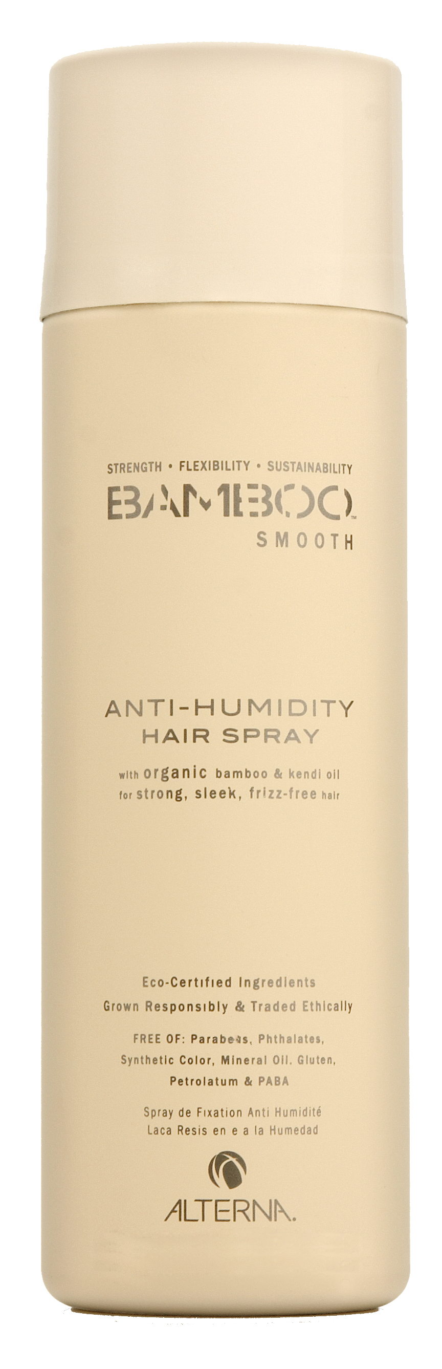 "ALTERNA Лак полирующий для волос / BAMBOO SMOOTH 250 мл alterna спрей ""абсолютная термозащита"" caviar anti aging perfect iron spray 122ml"