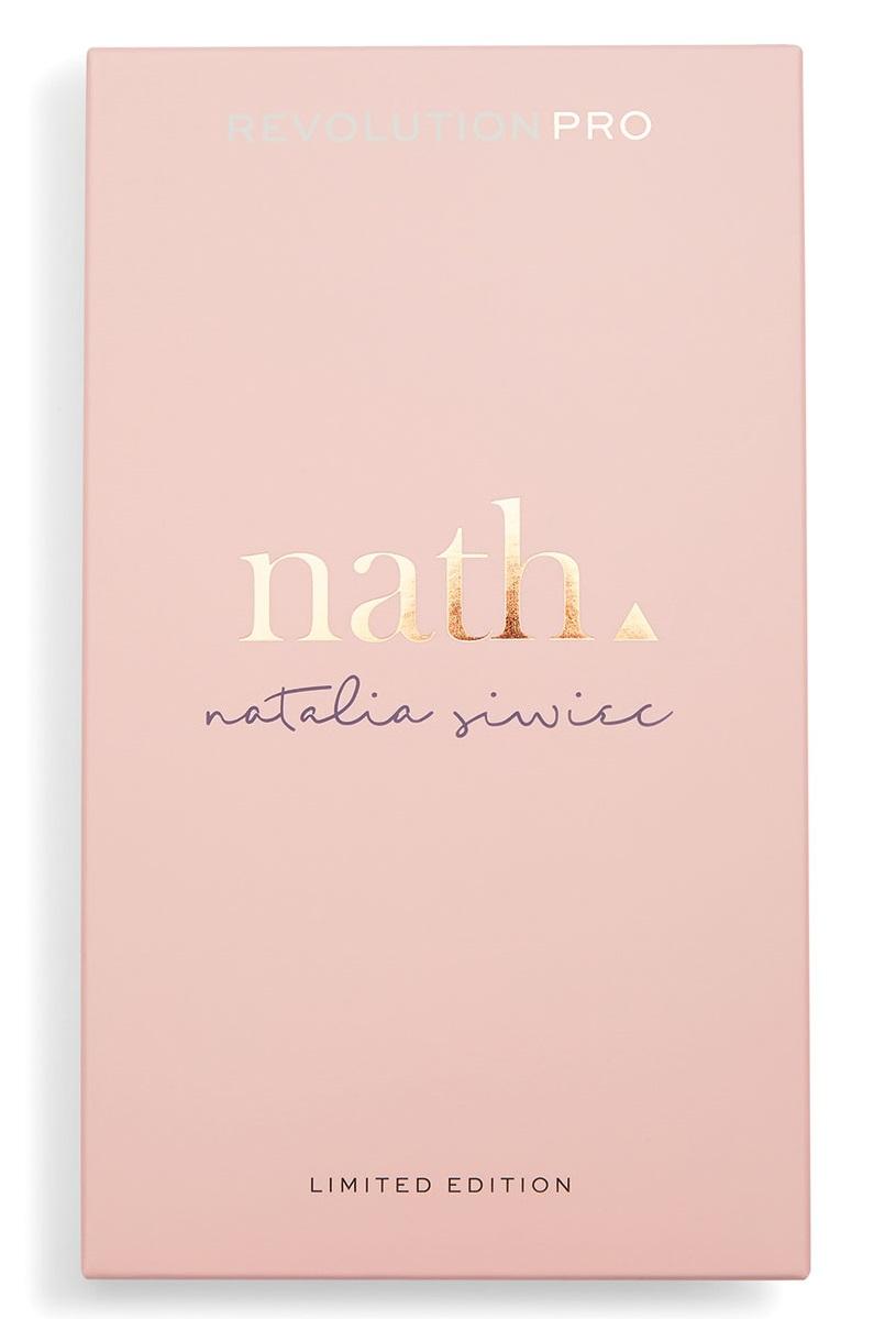 Купить REVOLUTION PRO Палетка для макияжа лица: хайлайтер и бронзер / Nath Highlight & Contour Palette