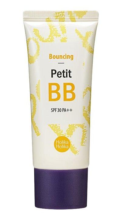 Купить HOLIKA HOLIKA ББ крем для лица Петит ББ Баунсинг SPF 30 PA++ / Petit BB Bounсing 30 мл