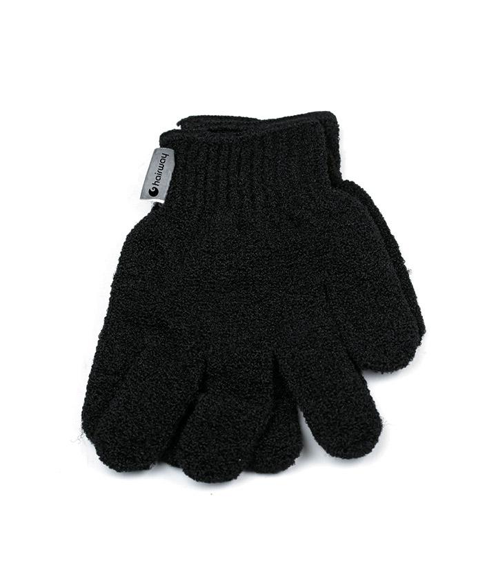 Купить HAIRWAY Мочалка-перчатка Hairway черная 2шт/уп.