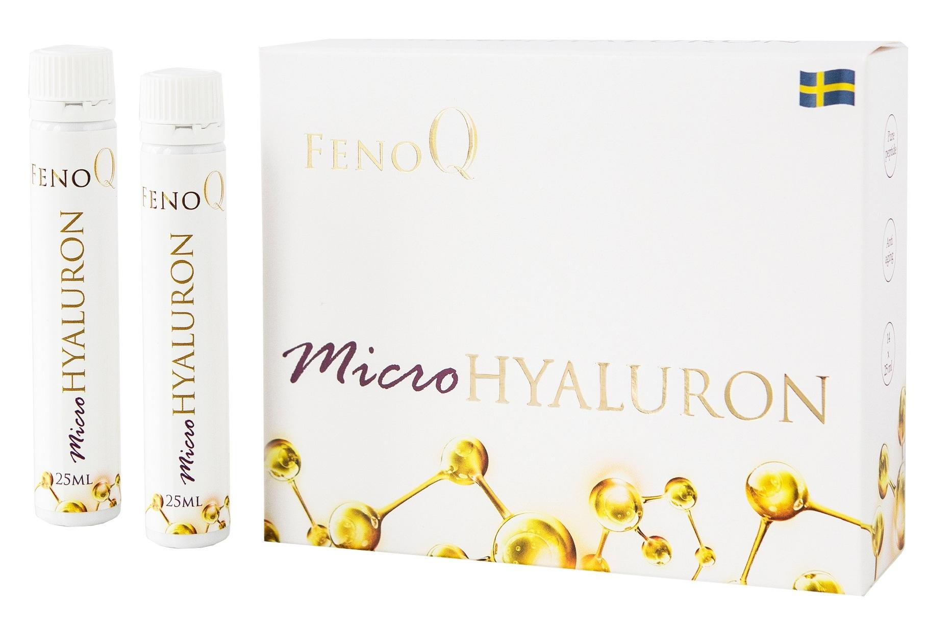 FENOQ TRICOLLAGEN Добавка биологически активная Фенок микрогиалурон / FenoQ MicroHyaluron 14*25 мл фото