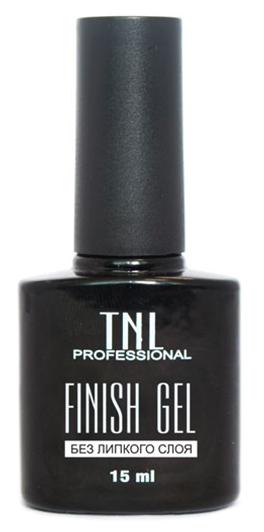TNL PROFESSIONAL Гель-финиш без липкого слоя 15 мл - Наращивание