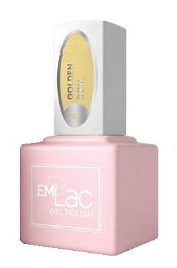 Купить E.MI 157 FQ гель-лак для ногтей, Золотая дива / E.MiLac 6 мл, Желтые