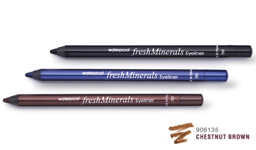 "FRESH MINERALS �������� ����������� ��� ��� ""Chestnut Brown"" / Waterproof Eyeliner 10,9��"