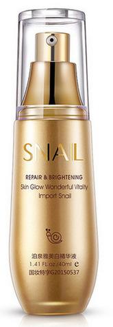 BIOAQUA Сыворотка с гиалуроновой кислотой и муцином улитки / Snail Repair & Brightening 40 мл