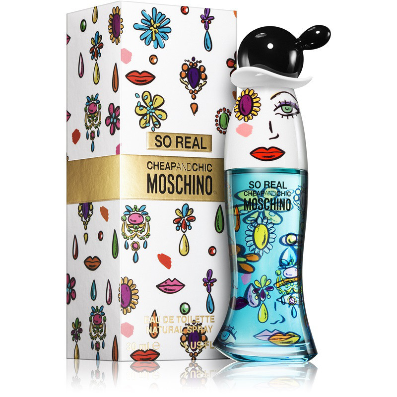 MOSCHINO Вода туалетная женская Moschino So Real Cheap and Chic, спрей 30 мл - Парфюмерия