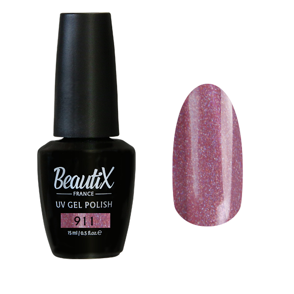 Купить BEAUTIX 911 гель-лак для ногтей 15 мл, Розовые