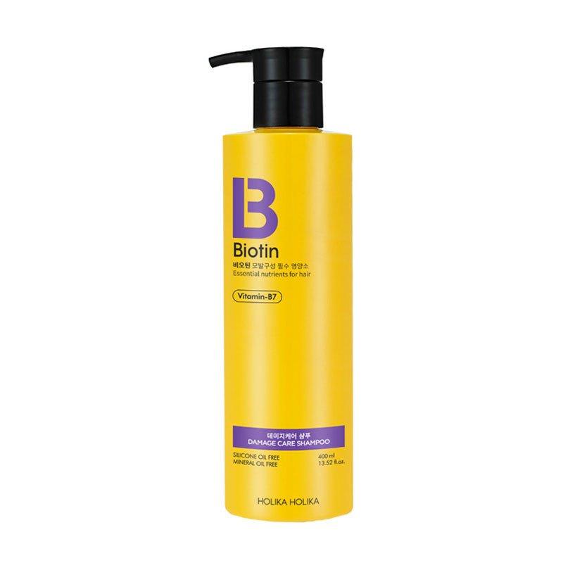 Купить HOLIKA HOLIKA Шампунь для поврежденных волос Биотин / Biotin Damage Care Shampoo 400 мл