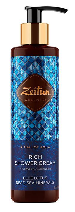 Купить ZEITUN Крем для душа Ритуал увлажнения / Aqua 250 мл