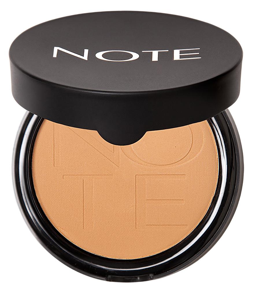 Купить NOTE Cosmetics Пудра компактная с эффектом сияния 06 / LUMINOUS SILK COMPACT POWDER 10 г