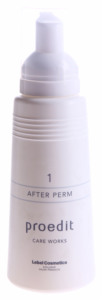 LEBEL Сыворотка для волос / PROEDIT CARE WORKS 1/AFTER PERM 150млСыворотки<br>Окрашивание и химическая завивка &amp;ndash; сильный стресс для волос, который может вызвать неприятные последствия. Волосы теряют влагу, их структура нарушается, они слабнут и становятся ломкими. Если вы столкнулись с подобной проблемой, вернуть здоровье волосам эффективно поможет Сыворотка Proedit Care Works 1 After perm. Это средство лечит волосы, предотвращая потерю цвета - фиксацию цветового пигмента обеспечивают такие ингредиенты, как глутамин и лизин. Глютаминовая кислота обладает мощным регенерирующим, увлажняющим и коллагенообразующим свойствами, а также препятствует выпадению волос. Креатин и глицерин помогают в создании красивых, упругих завитков во время укладки или завивки, удерживают большое количество молекул воды в волосах. Щелочная среда сыворотки нейтрализует остатки аммиачных производных, оставшихся после окрашивания. Сыворотка Proedit Care Works 1 After perm &amp;ndash; это первый шаг к истинной красоте и здоровью ваших волос! Активный состав: Глутамин, лизин. Применение: Возьмите Сыворотку и разотрите несколько капель в ладонях, затем нанести на сухие (или немного влажные волосы) не забывая равномерно распределять средство по всей длине волос. Особое внимание стоит уделить кончикам волос, после применения не смывать.<br><br>Объем: 150<br>Вид средства для волос: Увлажняющий<br>Назначение: Выпадение