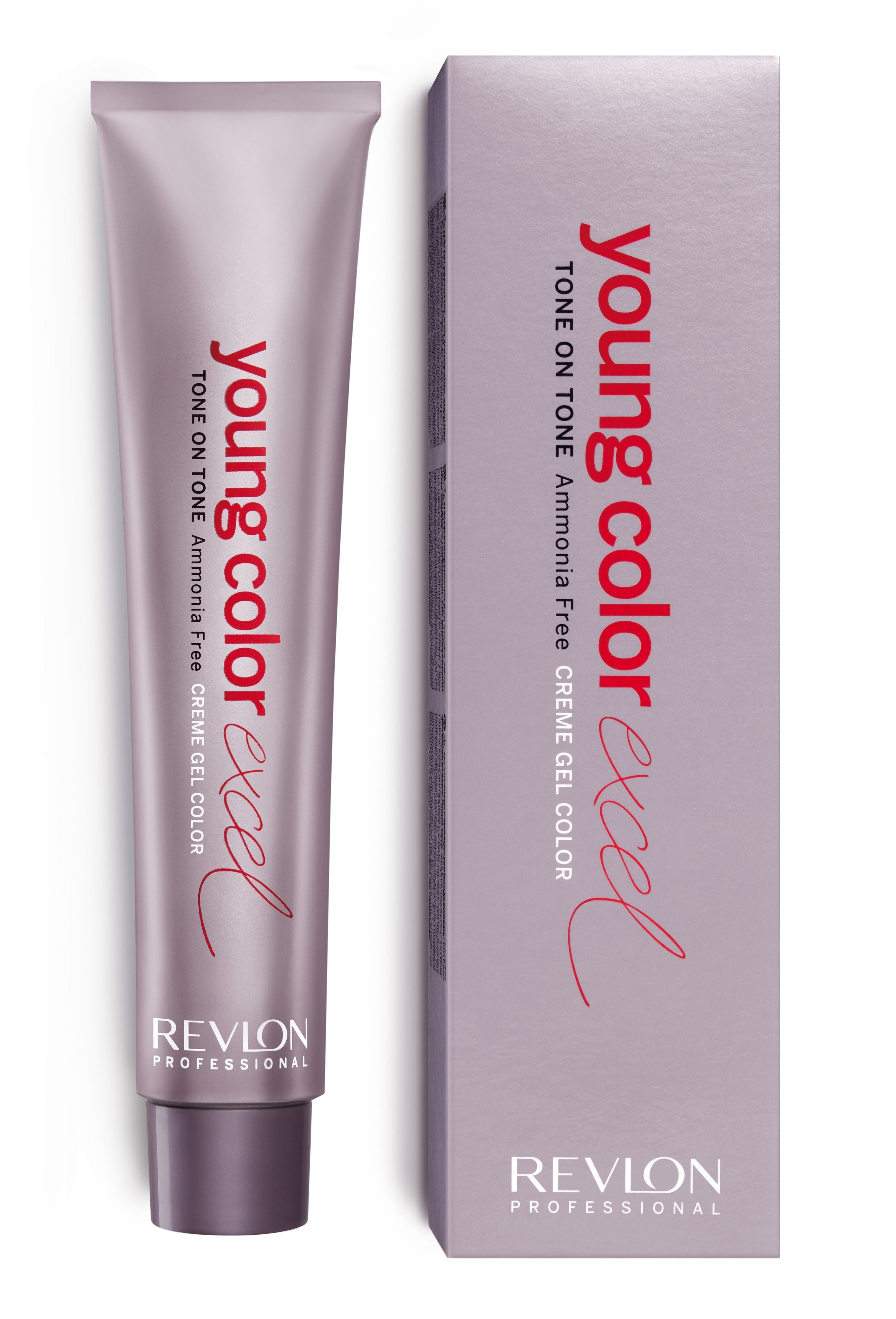 Revlon professional 7-45 крем-гель полуперманентный, медный махагон / young color excel 70 мл