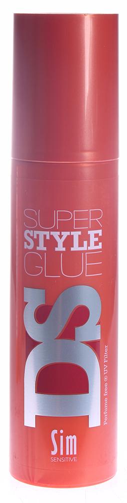 SIM SENSITIVE Клей для укладки волос Супер Стайл / Super Style Glue DS 100млГели<br>Клей для укладки волос Super Style Glue сильной фиксации. Этот экстремальный клей для укладки позволяет создавать любую форму, какую вы захотите Гладкие волны 20-х годов, Беспорядочный стиль, Абсолютно гладкую прическу, Ирокез или Острые шипы. Прозрачный клей гелевой текстуры легко и быстро поможет создать стильную прическу на долгое время в считанные секунды. Не склеивает руки. Без парабенов. Фиксация: 5 Объем: 3 Блеск: 5 Способ применения: Нанесите на руки, распределите по ладоням и сразу укладывайте сухие волосы и придавая им окончательную форму. Сохнет быстро.<br>