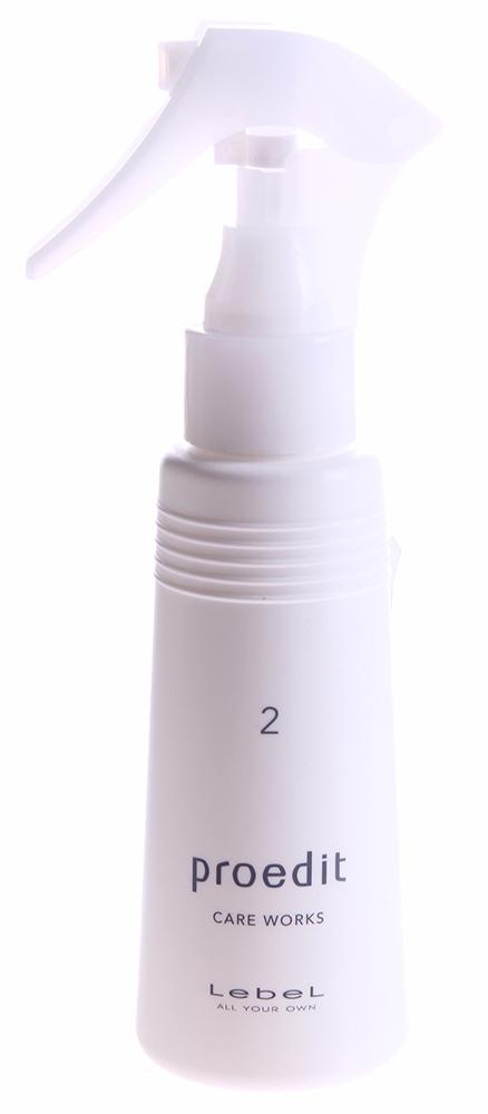 LEBEL Сыворотка для волос / PROEDIT CARE WORKS 2 100млСыворотки<br>Активные компоненты лечебных средств окажутся наиболее эффективными и проявят свои свойства более выражено, если вы воспользуетесь Сывороткой Care Works 2. Эта Сыворотка служит проводником для питательных веществ за счет присутствия в формуле Сыворотки особого растительного полимера. Ценнейшее масло ореха макадамии выравнивает структурные различия между корневой частью и кончиками волос, укрепляет кортекс поврежденных сухих и окрашенных волос. Соевый лецитин насыщает волосы и кожу головы влагой и защищает поверхность волос. Сыворотка Care Works 2 &amp;ndash; это второй шаг к истинной красоте и здоровью ваших волос! Активный состав: Масло ореха макадамии, соевый лецитин. Применение: Возьмите Сыворотку и разотрите несколько капель в ладонях, затем нанести на сухие (или немного влажные волосы) не забывая равномерно распределять средство по всей длине волос. Особое внимание стоит уделить кончикам волос, после применения не смывать.<br><br>Объем: 100