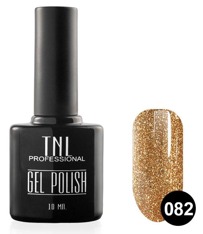 Купить TNL PROFESSIONAL 082 гель-лак для ногтей, корица 10 мл, Желтые