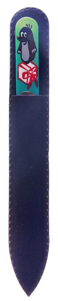 BHM PROFESSIONAL Пилочка стеклянная цветная с рисунком 135 мм - Маникюрные инструменты