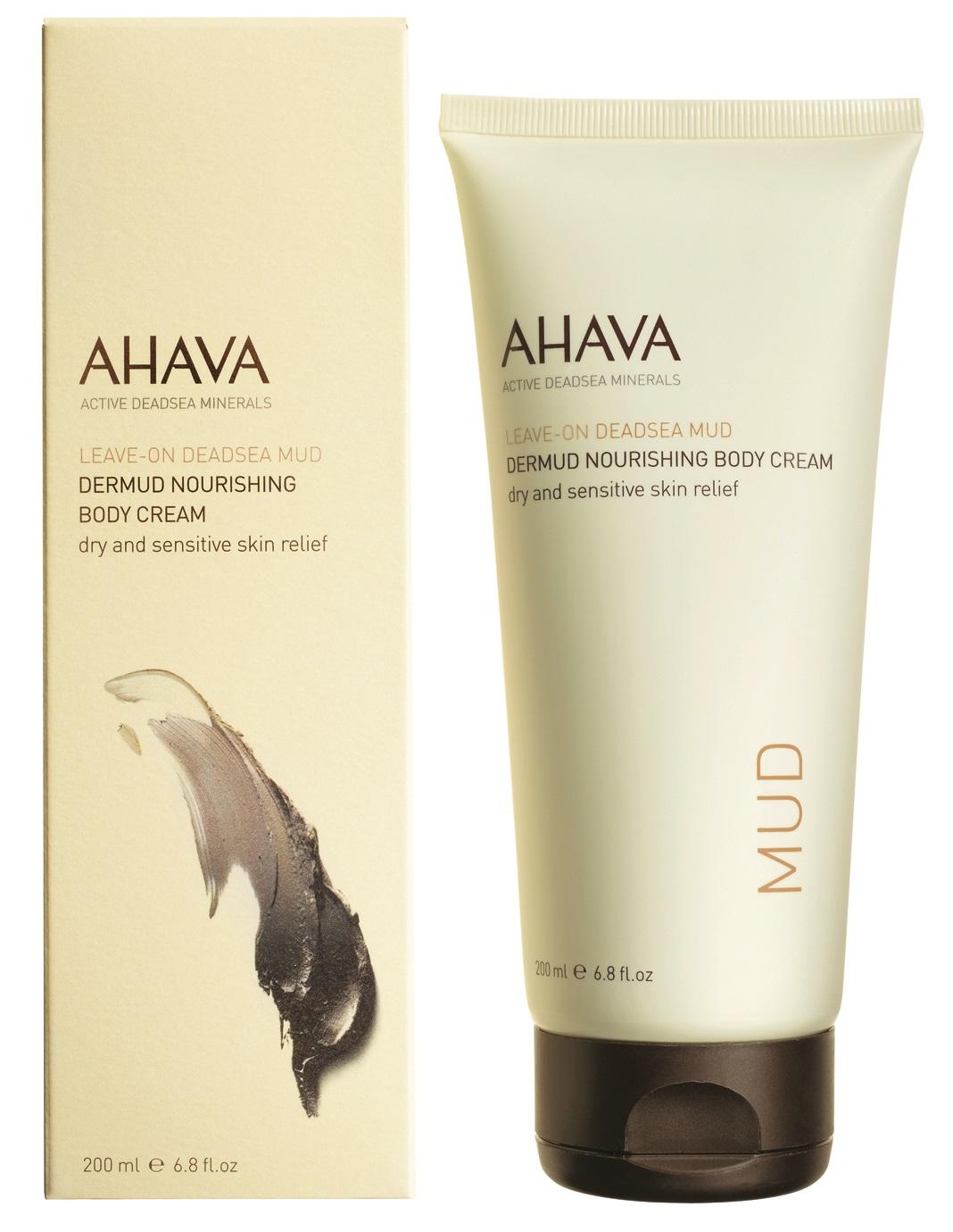 AHAVA Крем питательный для тела / Deadsea Mud 200 мл -  Кремы