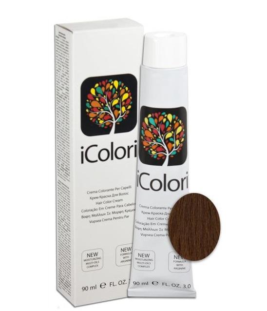 KAYPRO 7.8 краска для волос, блондин шоколад / ICOLORI 90мл