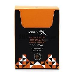 EGOMANIA Коктейль для обесцвеченных волос / KERNOX MIX BLOND 2,5 млОсобые средства<br>Коктейль используется для восстановления и увлажнения обесцвеченных, осветлённых и мелированных волос. Коктейль служит источником активных аминокислот - аспарагиновой кислоты, аспарагина, фенилаланина, аланина, лизина, аргинина, гистидина, цистеина, валина, которые являются основой пептидного комплекса и необходимы для глубокой реконструкции и восстановления обесцвеченных, осветлённых и мелированных волос. Активные ингредиенты: коктейль служит источником активных аминокислот - аспарагиновой кислоты, аспарагина, фенилаланина, аланина, лизина, аргинина, гистидина, цистеина, валина Способ применения: содержимое одного саше равномерно распределите по влажным волосам перед укладкой. Не смывайте. Для усиления действия маски для обесцвеченных, осветленных и мелированных волос, добавьте содержимое 1 саше коктейля (2,5 грамма) в 50 грамм маски. Только для наружного применения. При возникновении раздражения кожи прекратите использование. Избегайте попадания в глаза.<br><br>Вид средства для волос: Несмываемый<br>Типы волос: Окрашенные