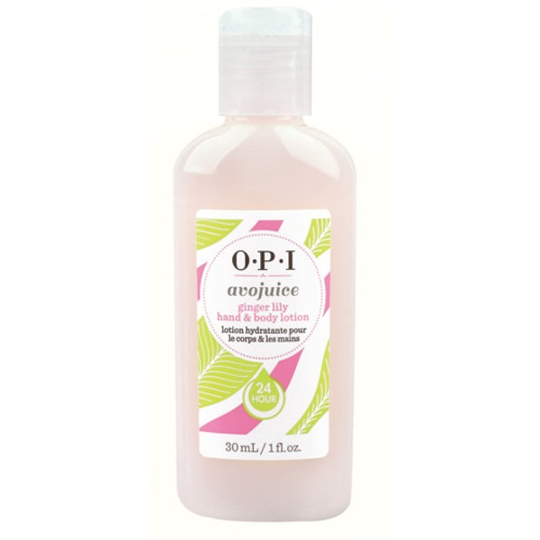 OPI Лосьон для рук и тела Ginger Lily / Avojuice Hand  Body Lotion 30мл