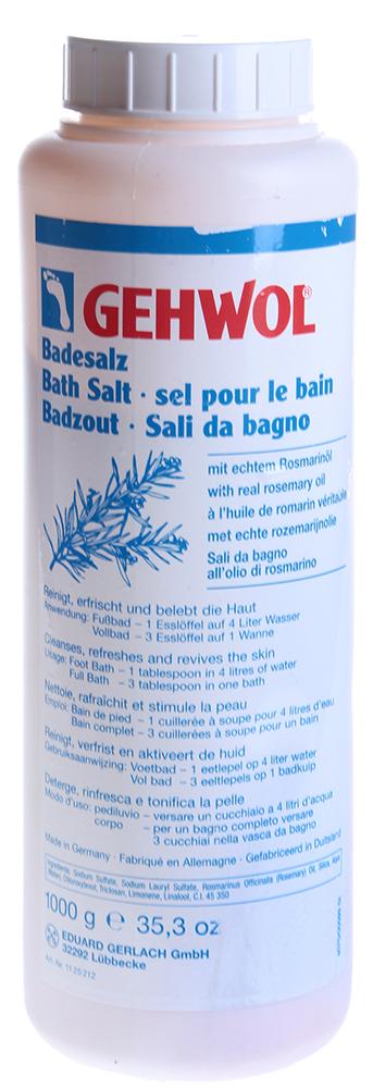 GEHWOL Соль с розмарином для ванны 1000 г