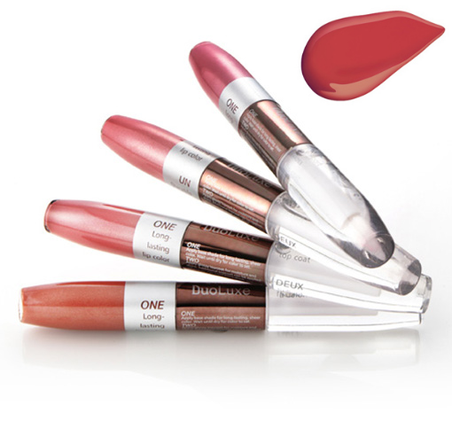 "FRESH MINERALS ����� ��� ��� � ������� �������� ""Heshe"" / Duo Luxe Lipgloss 2*3,5��"
