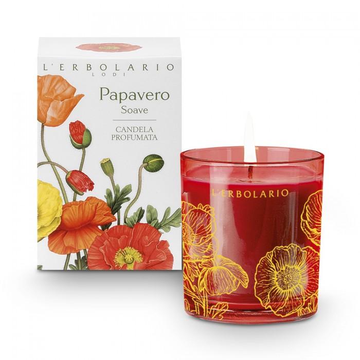 LERBOLARIO Свеча ароматизированная Нежный мак