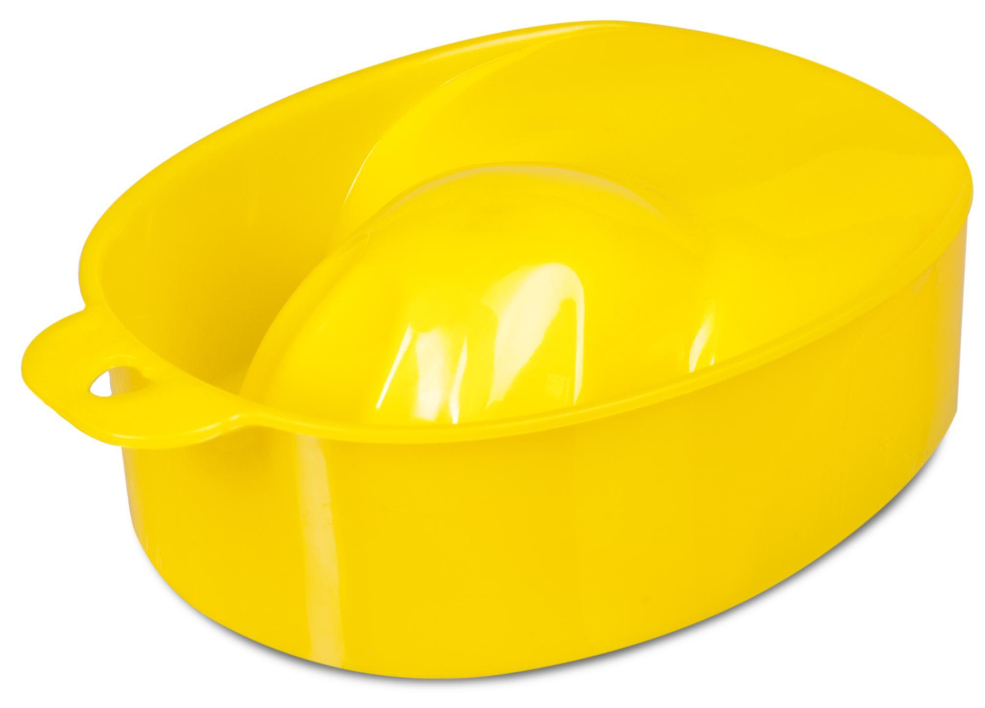 DOMIX Ванночка для маникюра, желтая / DGP
