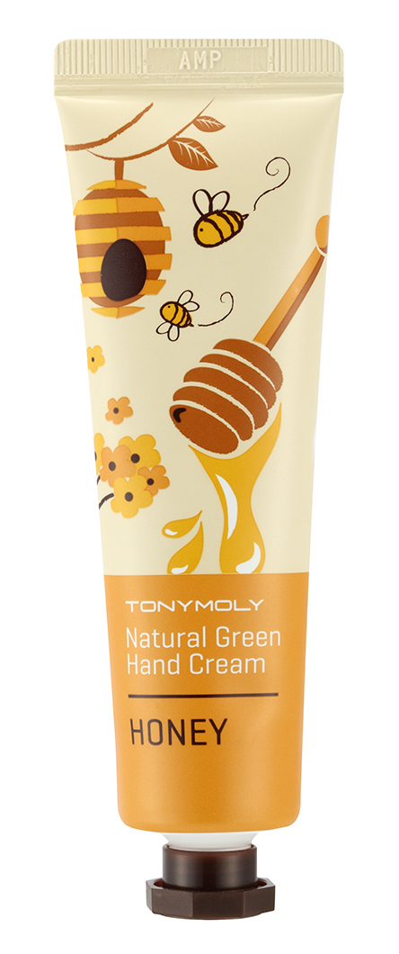 TONYMOLY Крем для рук / Natural Green Hand Cream Honey 30 мл