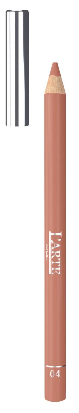 Купить LARTE DEL BELLO Карандаш для губ, тон 04 / PROFESSIONALE 1, 12 г