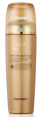 TONY MOLY Эмульсия для лица / Intense Care Gold 24K Snail Emulsion 140 мл