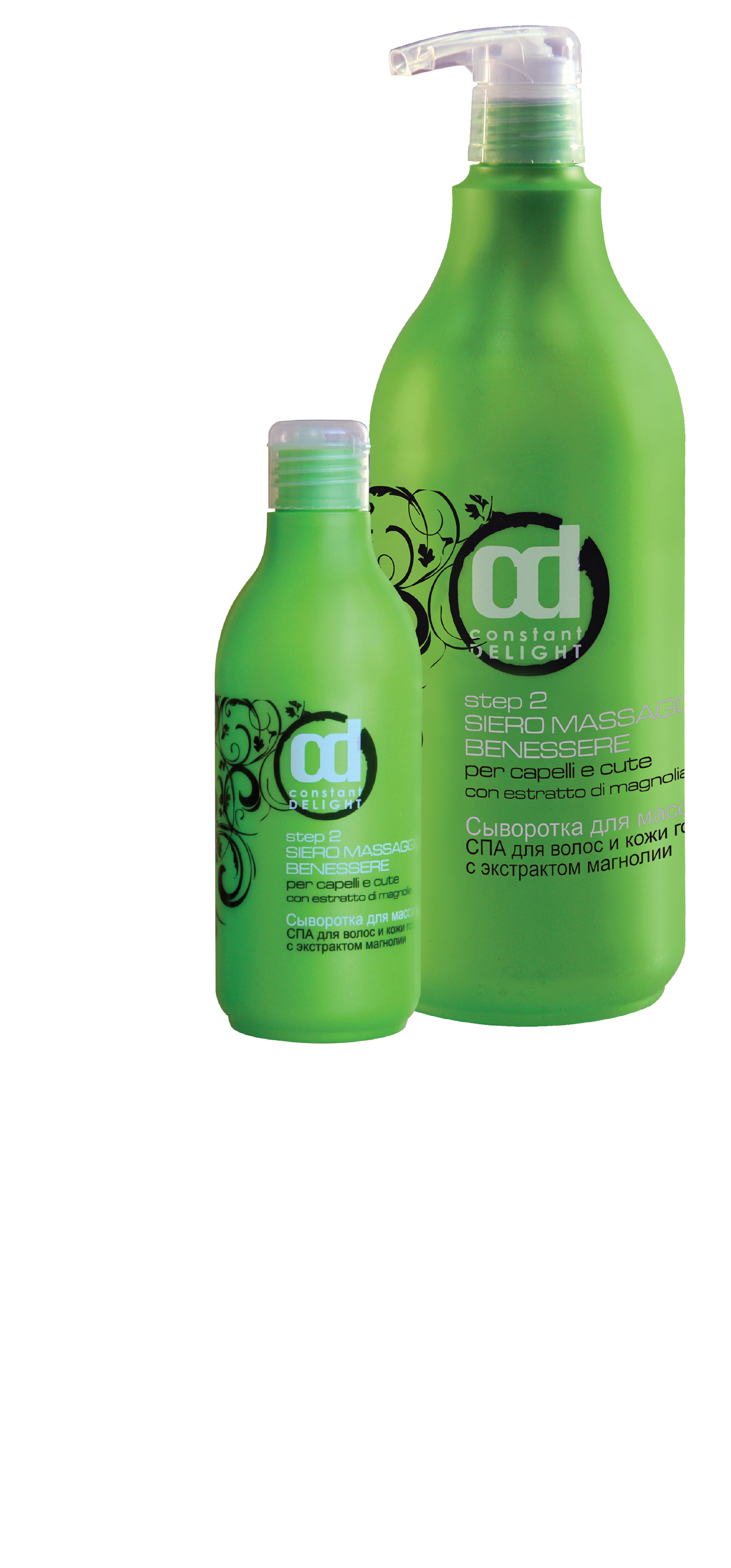 CONSTANT DELIGHT Сыворотка для массажа волос и кожи головы с экстрактом магнолии СПА (шаг 2) / SPA, 1000 мл