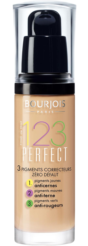 BOURJOIS Крем тональный для лица, 53 светлый бежевый / 123 Perfect New - Тональные основы