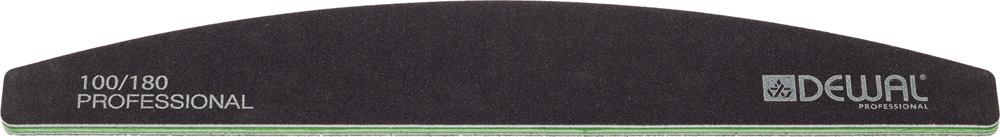 Купить DEWAL PROFESSIONAL Пилка для ногтей улыбка черная 100/180 18 см