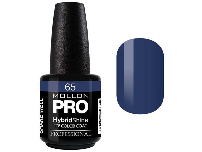 MOLLON PRO Гель-лак для ногтей УФ / HybridShine UV Color Coat  65 15мл