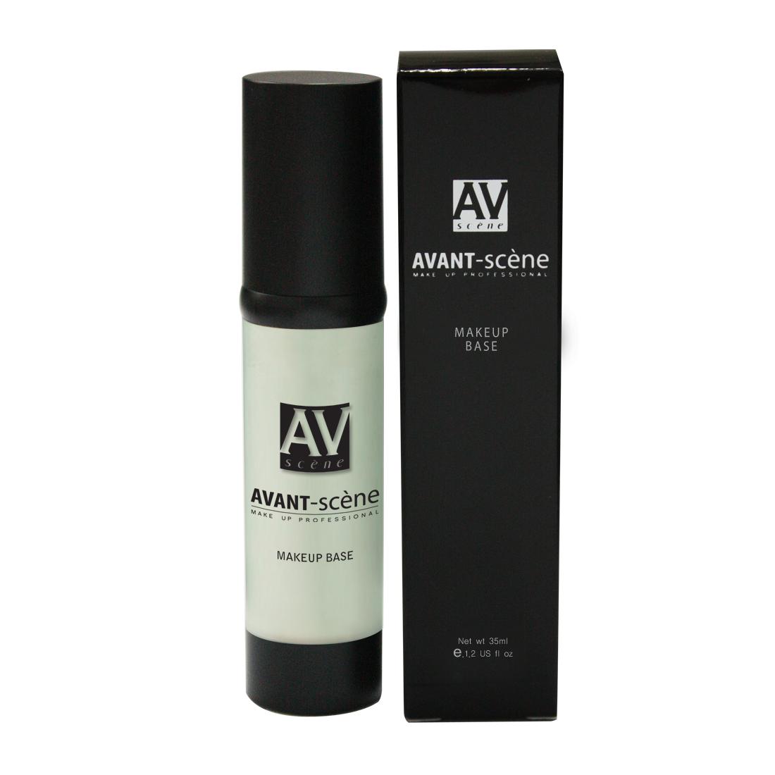 AVANT scene База под макияж,   1 - свежая мята / Make-up Base 35мл