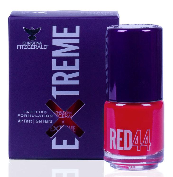 Купить CHRISTINA FITZGERALD Лак для ногтей 44 / RED EXTREME 15 мл, Красные