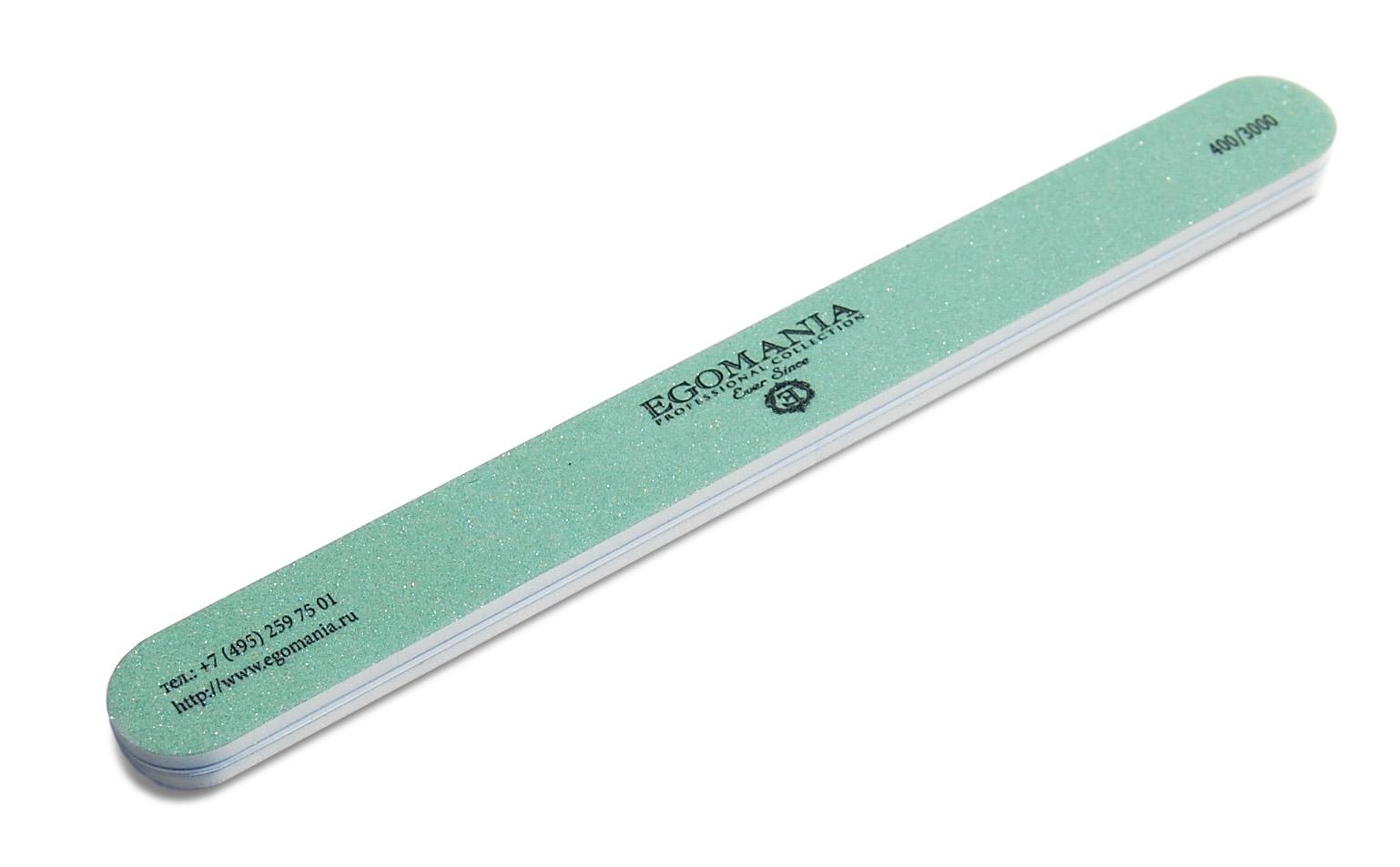 EGOMANIA Пилка для полировки ногтей (абразив 400/3000) / Egomania Proffessional collection