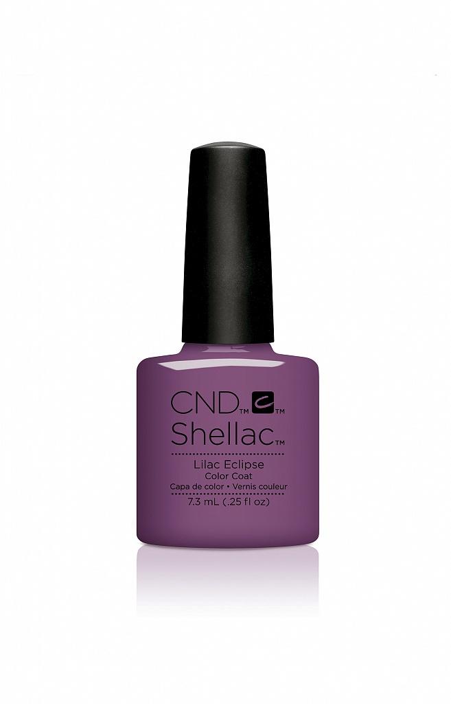 CND 91590 покрытие гелевое Lilac Eclipse / SHELLAC 7,3мл cnd 083 покрытие гелевое bare chemise shellac 7 3мл