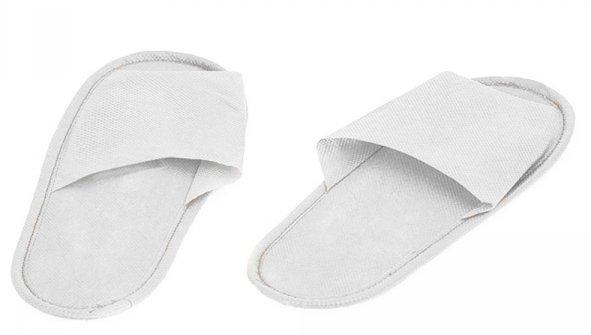 Купить IGRObeauty Тапочки ЭВА, нескользящие на жесткой подошве, открытый мыс, размер 39, цвет белый 1 пара