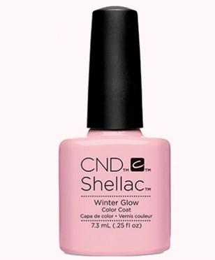 CND 90871 покрытие гелевое Winter Glow / SHELLAC Aurora 7,3мл cnd 083 покрытие гелевое bare chemise shellac 7 3мл
