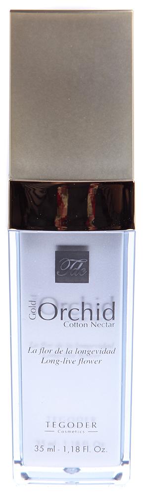 TEGOR Крем-гель с хлопком Золотая орхидея / Cotton Nectar GOLD ORCHID COTTON 35млЭмульсии<br>&amp;nbsp;Данное средство, обладающее очень нежным ароматом, поможет избавиться от негативных эмоций. Крем-эмульсия  Золотая орхидея  от Тегор способствует регенерации кожных покровов, увлажняет, разглаживает и омолаживает кожу. Главным компонентом крема является экстракт золотой орхидеи, который восстанавливает и нормализует дыхание кожи, стимулирует микроциркуляцию, интенсивно увлажняет кожу, ускоряет регенерацию клеток, снимает раздражения и воспаления. Регулярное применение крема-эмульсии  Золотая орхидея  от Tegor подарит вашей коже молодой, свежий вид, сделает ее более мягкой и гладкой. &amp;nbsp; Активный состав: Экстракт золотой орхидеи, пантенол, витамины А, С и Е. Способ применения: Нанесите необходимое количество крема-эмульсии  Золотая орхидея  от Тегор на чистую кожу. Оставьте до полного впитывания.<br><br>Тип: Крем-гель<br>Объем: 35