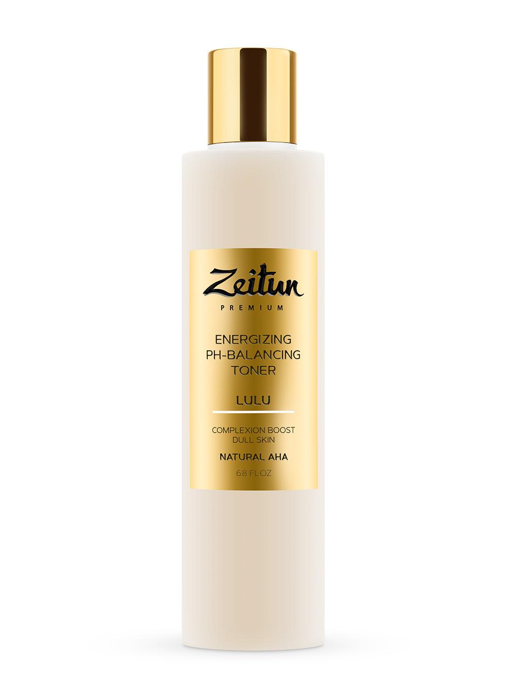 Купить ZEITUN Тоник энергетический и pH-балансирующий для тусклой кожи / Lulu 200 мл