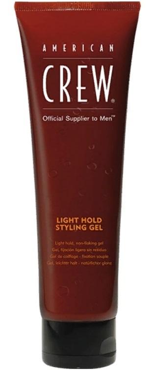 AMERICAN CREW Гель для укладки волос слабой фиксации, для мужчин / Light Hold Gel Tube 250 мл