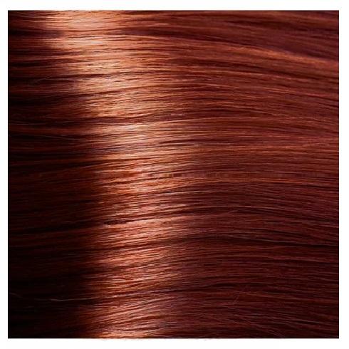 KAPOUS NA 8.44 краска для волос, светлый интенсивный медный блонд / Magic Keratin 100 мл