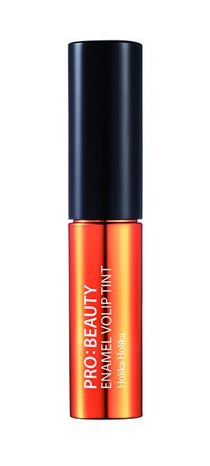 "HOLIKA HOLIKA Тинт глянцевый для губ OR01 (светло-оранжевый) ""Про:бьюти Энамель"" / Pro:beauty Enamel Volip Tint Citirine Peach 4,5гр"