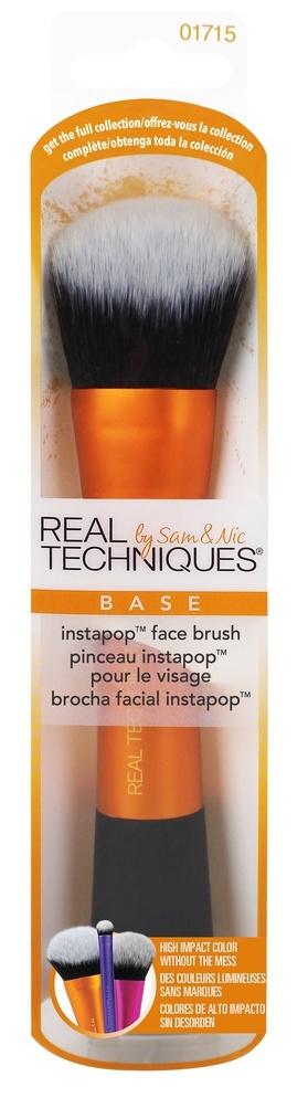 Купить REAL TECHNIQUES Кисть для пудры / Instapop Face Brush